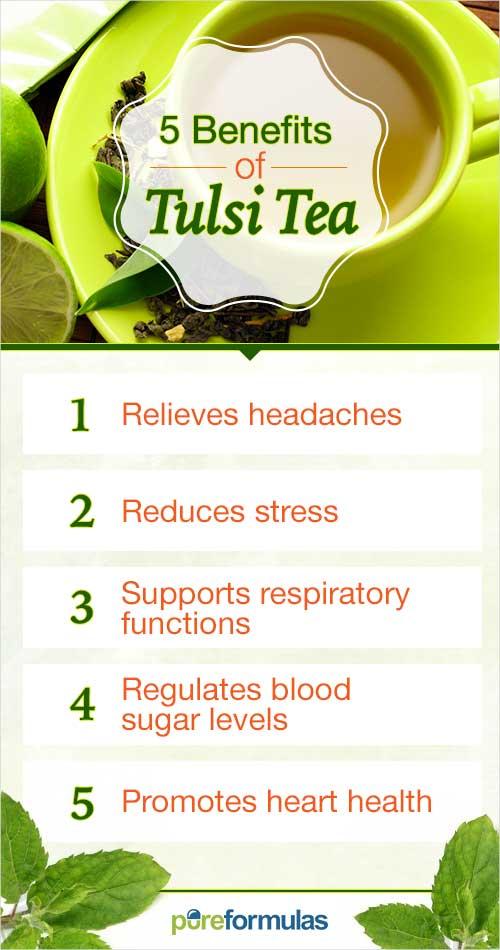 5 Benefits of Tulsi Tea | PureFormulas