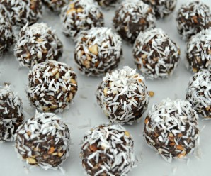 Chocolate Quinoa Truffles