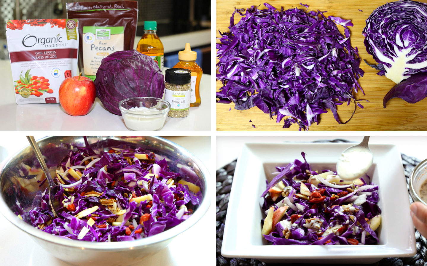 Detox Cabbage Salad