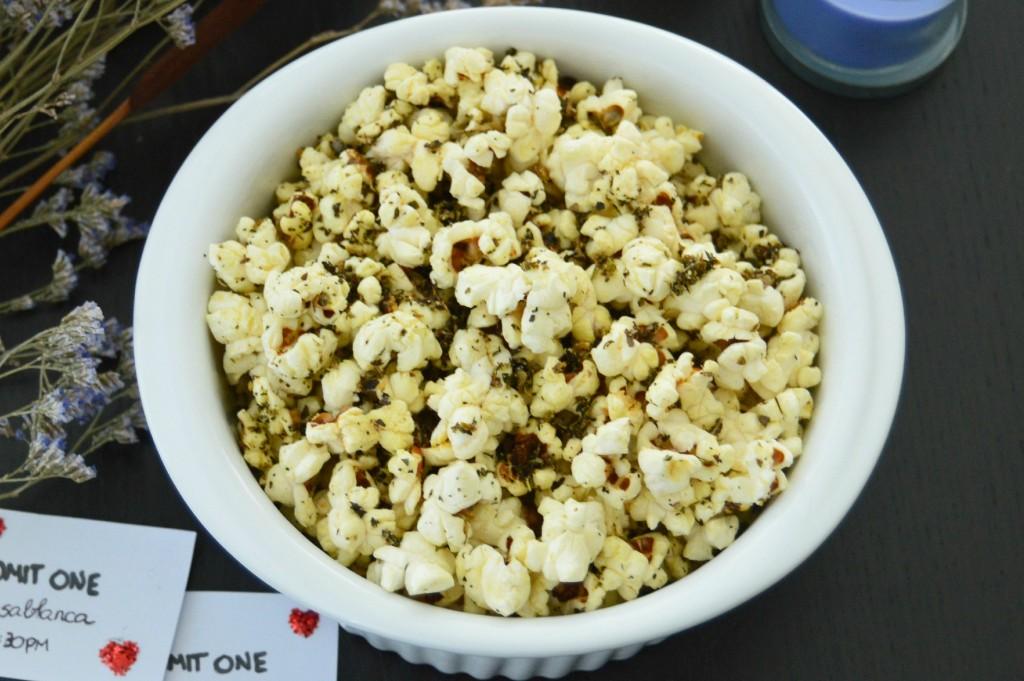 how to say popcorn in italian