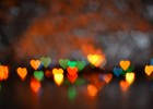 background with bokeh. Background to the Valentine's day