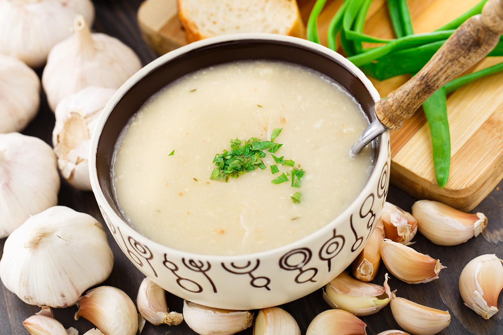 Fighting Off Spring Sniffles (and Garlic Soup!)