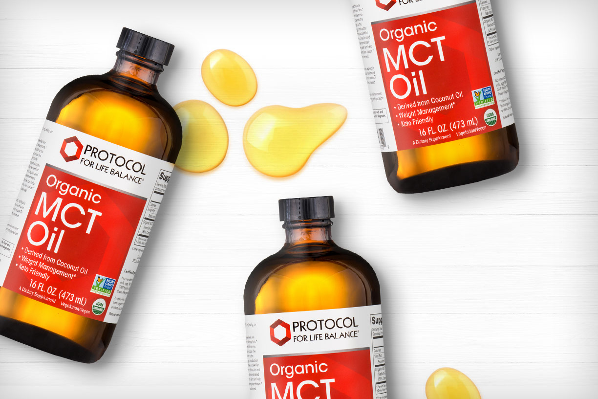 Benefits of MCT oil for healthy weight & energy. Plus, get 10% OFF for a limited time!